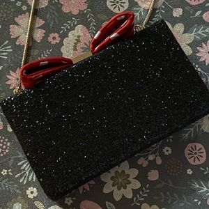 Kate Spade Minnie Mouse Clutch with Gold Chain